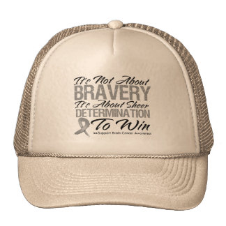 Not About Bravery - Brain Cancer Hat