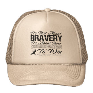 Not About Bravery - Carcinoid Cancer Mesh Hat