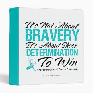 Not About Bravery - Cervical Cancer Binder
