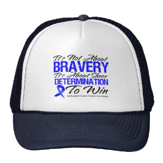 Not About Bravery - Colon Cancer Hats