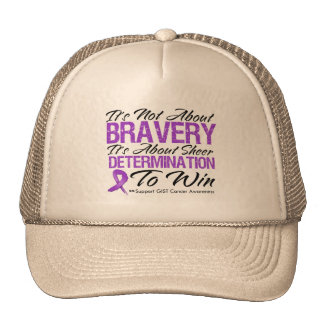 Not About Bravery - GIST Cancer Mesh Hat