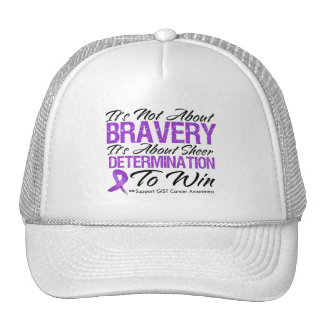 Not About Bravery - GIST Cancer Hat