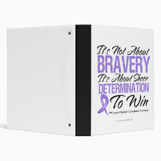 Not About Bravery - Hodgkin's Lymphoma Binders