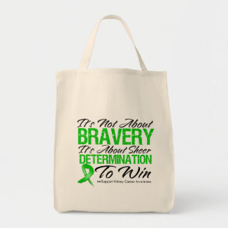 Not About Bravery - Kidney Cancer Canvas Bag