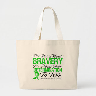 Not About Bravery - Kidney Cancer Tote Bags