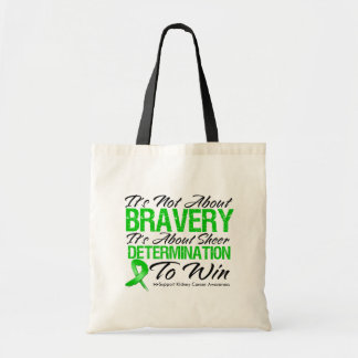 Not About Bravery - Kidney Cancer Tote Bag