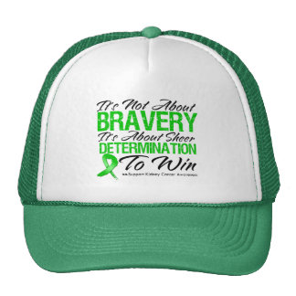 Not About Bravery - Kidney Cancer Trucker Hats