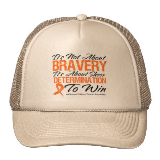 Not About Bravery - Kidney Cancer v2 Trucker Hat