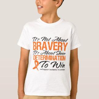 Not About Bravery - Leukemia T-Shirt