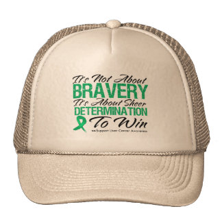 Not About Bravery - Liver Cancer Mesh Hats