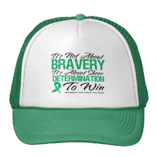 Not About Bravery - Liver Cancer Mesh Hat