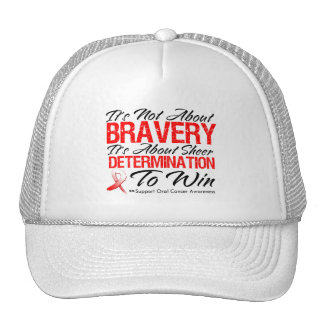 Not About Bravery - Oral Cancer Hats