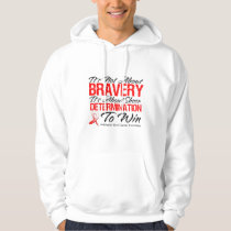 Not About Bravery - Oral Cancer Hoodie