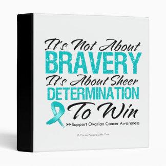 Not About Bravery - Ovarian Cancer Binder