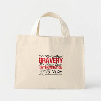 Not About Bravery - Retinoblastoma Mini Tote Bag