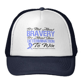 Not About Bravery - Stomach Cancer Mesh Hat