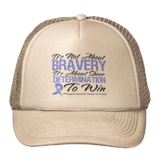 Not About Bravery - Stomach Cancer Hat