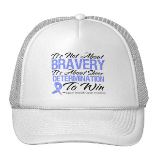 Not About Bravery - Stomach Cancer Trucker Hat