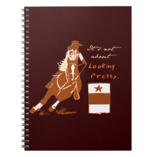 Not About Looking Pretty Notebook