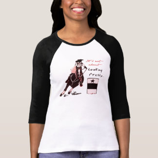 Not About Looking Pretty Tee Shirt