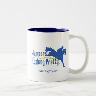 Not About Looking Pretty Two-Tone Coffee Mug