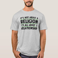 Not About Religion shirt
