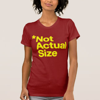 *Not Actual Size T-Shirt