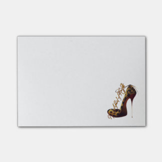 """""""Not Afraid of Heights"""" Tres Chic High Heel Design Post-it® Notes"""
