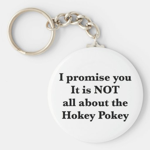 Not All About the Hokey Pokey Basic Round Button Keychain