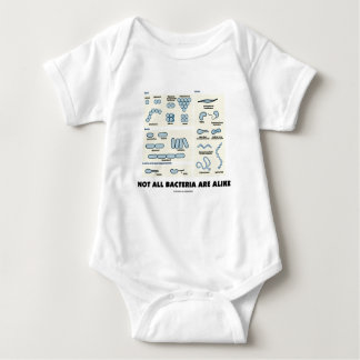 Not All Bacteria Are Alike (Bacterial Morphology) Baby Bodysuit