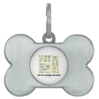 Not All Bacteria Are Alike (Bacterial Morphology) Pet Name Tags