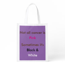 not all cancer bag grocery bag
