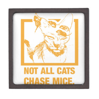 Not All Cats Chase Mice Gift Box
