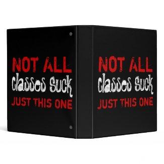 Not All Classes Suck binder