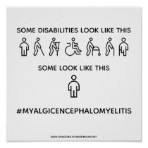 Not all disabilities are visible: Poster