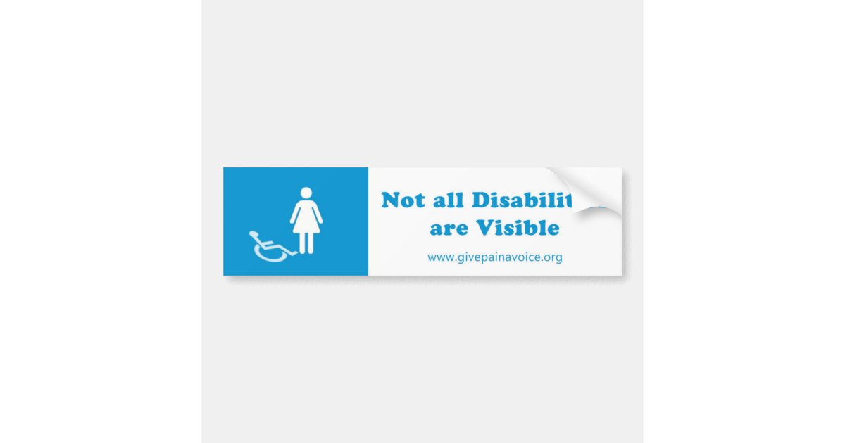 not all disabilities are visible - 1200×630