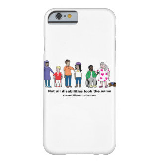 Not All Disabilities Look Same iPhone 6/6s Case