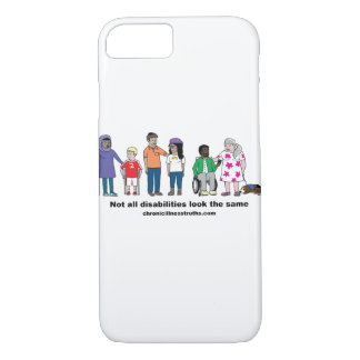 Not All Disabilities Look Same iPhone 7 Case