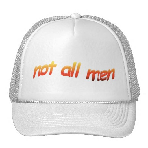 not all men stylish head covering yes trucker hat