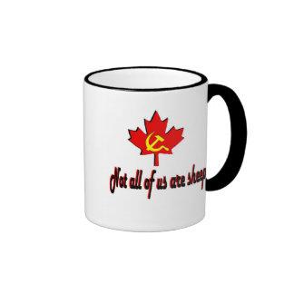 Not All Sheep Ringer Coffee Mug