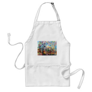 Not All Those Who Wander Inspirational Quote Adult Apron