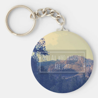 Not all Who Wander are Lost Keychain