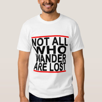 Not All Who Wander Are Lost T Shirt.png T-Shirt