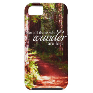 Not All Who Wander iPhone 5 Cover