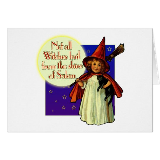 Not All Witches... Card
