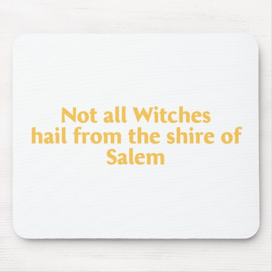 Not All Witches Mouse Pad