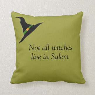 Not all witches.... throw pillow