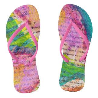 not alone flip flops