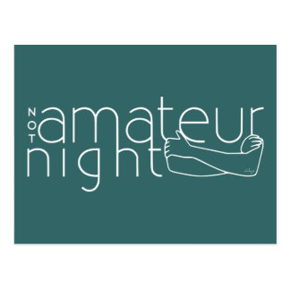NOT amateur night Postcard