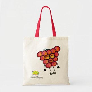 Not Amused Raspberry Bag